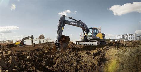 ece excavators competitor comparison volvo