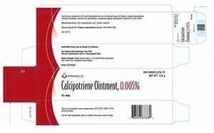 Calcipotriene Ointment - FDA prescribing information, side effects and uses Calcipotriene Skin Cream or Ointment