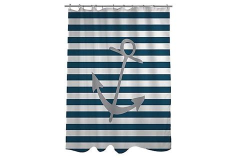 1000+ Ideas About Anchor Shower Curtains On Pinterest Modern Bay Window Curtain Ideas Curtains For Shower Length Pottery Barn White Waffle Plastic Best Fabric Bathroom Vertical Blinds And Together Pictures Duck Egg Blue Lining Single Stall
