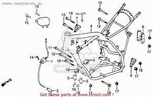 Honda Cr250r Elsinore 1981  B  Usa Frame    Ignition Coil