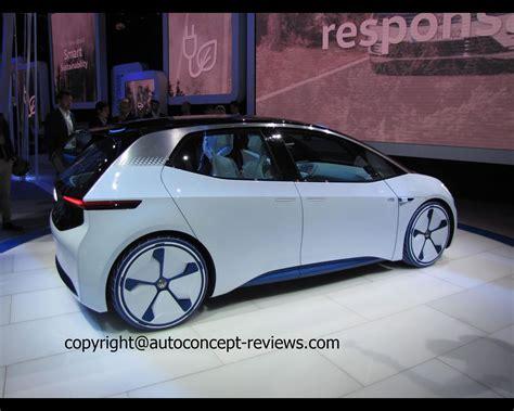 Volkswagen Id Pure Electric Concept 2018