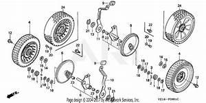 Honda Hrb215k3 Hxa Lawn Mower  Usa  Vin  Mzba