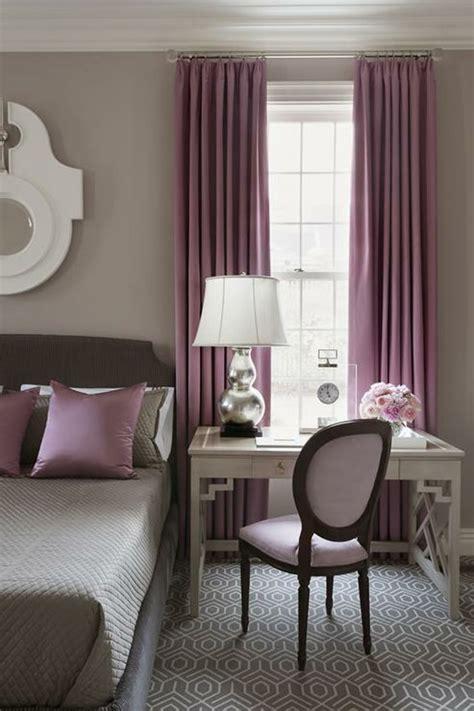peinture chambre prune et gris 1001 idées pour la décoration d 39 une chambre gris et violet