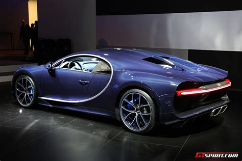 The production building for the chiron, which bugatti calls atelier, has a floor space of more than 1,000 square metres. Geneva 2017: Bleu Royal Bugatti Chiron - GTspirit