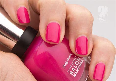 Sally Hansen Hot Pink Nail Polish Pictures, Photos, And
