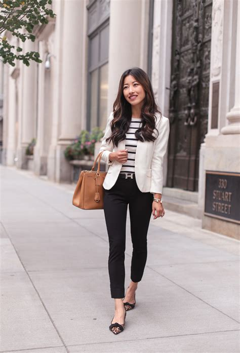 Workwear black pants leopard flats