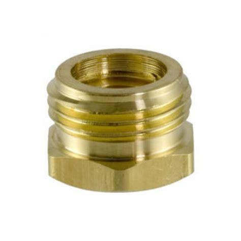 Brass Female Pipe Thread X Garden Hose Connectors