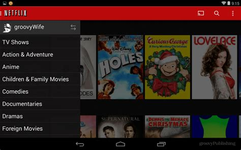 how to create netflix profiles now with android support