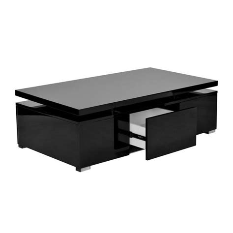 table basse bar noir table basse laqu 233 noir plateau relevable design achat vente table basse table basse laqu 233