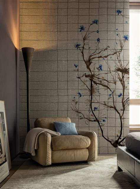 applique deco wallpaper as lifestyle