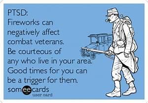 PTSD: Fireworks can negatively affect combat veterans ...