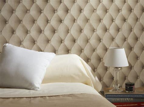 papier peint aspect tissu t 234 te de lit et photo 5 15 id 233 al pour une chambre 224 coucher