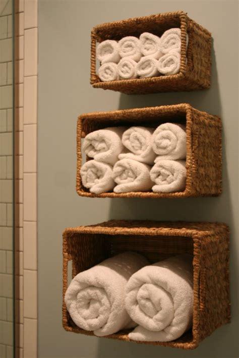 bathroom shelving ideas for towels 33 clever stylish bathroom storage ideas