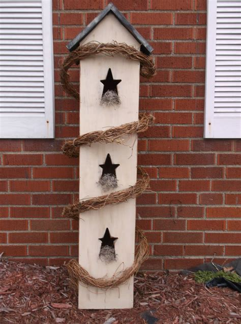 Primitive Bird Houses Simpsons Woodcrafts With Moore