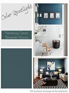 Remodelaholic Color Spotlight Benjamin Moore Newburg Green