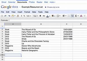 katie piatt39s blog make a searchable online database or With google docs spreadsheet database
