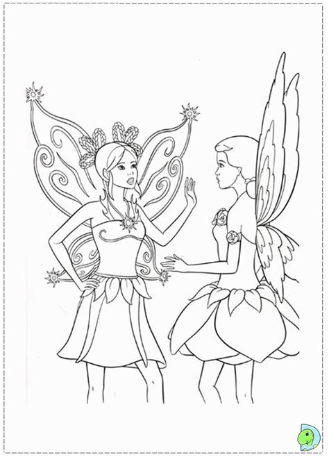 Barbie Fairytopia Coloring Pages - Eskayalitim