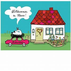 Zu Hause Zuhause : gl ckwunschkarte willkommen zu hause ~ Markanthonyermac.com Haus und Dekorationen
