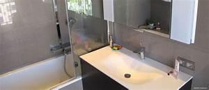 Fond De Baignoire : salle de bain baignoire en quaryl inside cr ation nice ~ Melissatoandfro.com Idées de Décoration