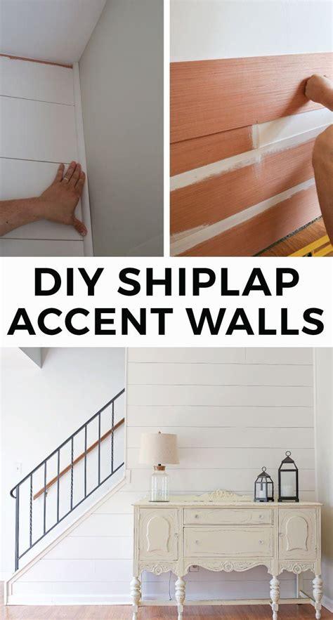 diy shiplap accent walls faux shiplap ship lap walls