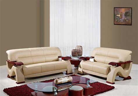 black leather pc modern living room set wmahogany arms