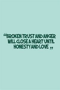 Quotes About Broken Trust In A Relationship