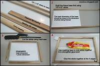 how to make picture frames How to make a photo frame at home - Indian Woodworking,DIY,Arts,Crafts Blog