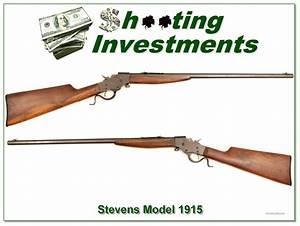 Stevens U2019s 1915 Favorite 22 Octagonal Barrel For Sale