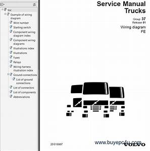 Volvo Trucks Fe Wiring Diagram Service Manuals Pdf