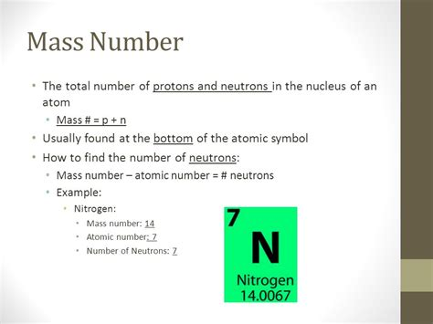 The Total Number Of Protons And Neutrons In The Nucleus by History Of The Atom Modern Atomic Theory Subatomic