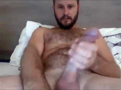 Hot Str8 Aussie With Baseballbat Cock Cums On His Hands