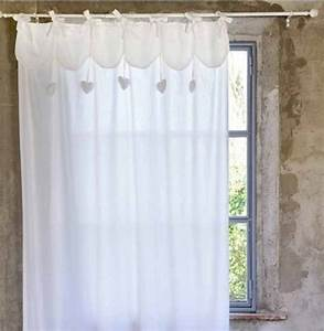 Rideaux Style Romantique : accessoires rideaux voilages ~ Melissatoandfro.com Idées de Décoration