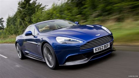 Martin Blue by Aston Martin Vanquish Hd Wallpaper Background Images