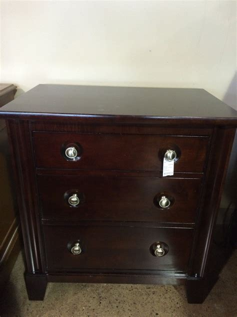 dark wood nightstand    durham furniture