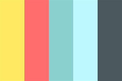 weather color mixed weather color palette