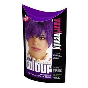 Pure Purple Semi Permanent Hair Dye
