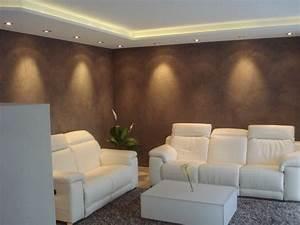 Wohnideen wandgestaltung maler lichtgestaltung for Wohnideen wohnzimmer wandgestaltung