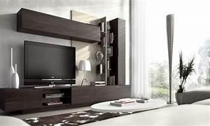 Meuble De Tele Design : 35 id es pour le meuble t l design moderne ~ Teatrodelosmanantiales.com Idées de Décoration