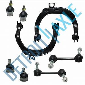 8pc Control Arm Ball Joint Sway Bar Tie Rod Kit For Chevy