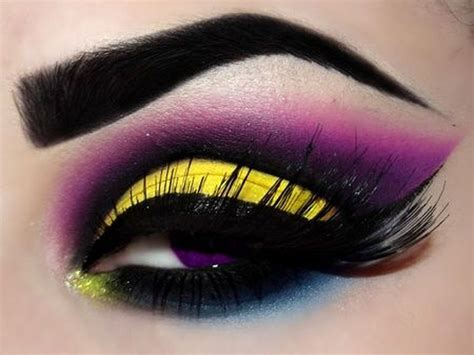 yellow eye makeup   divas
