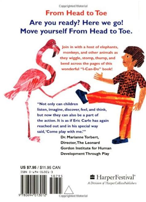 From To Toe from to toe board book board book march 27 1999