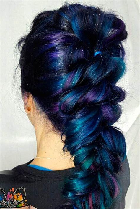 Hair Colour Styles by Best 25 Galaxy Hair Ideas On Galaxy Hair