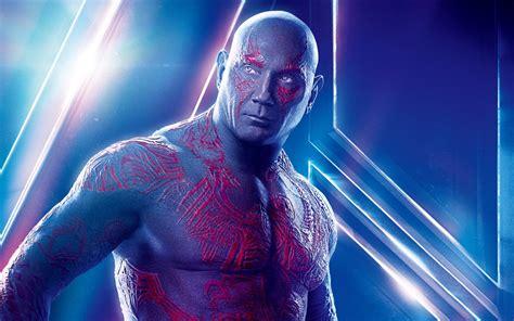 drax  avengers infinity war dave bautista