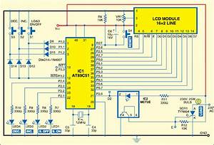 Phase Angle Controller Of Scr Using At89c51