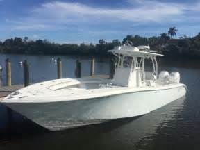 Yellowfin Fishing Boat For Sale by 2008 Used Yellowfin 32 Center Console Fishing Boat For