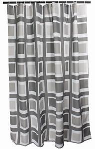 Duschvorhang Mit Bleiband : duschvorhang grau weiss textil arinosa window 180 x 200 ~ Sanjose-hotels-ca.com Haus und Dekorationen
