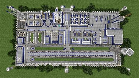 Military Base Minecraft Project