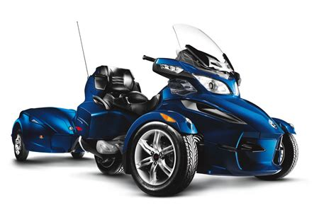 review   brp   spyder rt touring trike