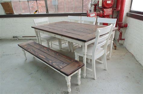 turned leg farmhouse table hand crafted reclaimed wood farmhouse table with beautiful