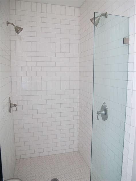 white subway tile bathroom ideas white subway tile bathroom white subway tile with shower